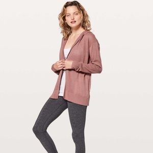 Lululemon Still Movement Sweater Wrap